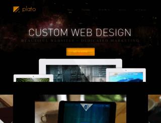 platowebdesign.com screenshot