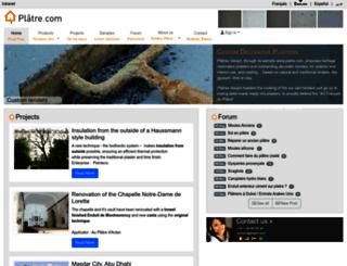 platre.com screenshot