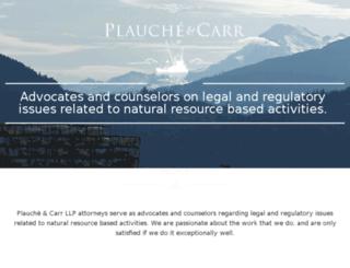 plauchecarr.wpengine.com screenshot