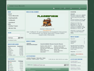 plauderforum.siteboard.eu screenshot