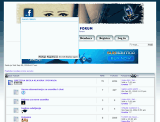 plavi.bigforumpro.com screenshot