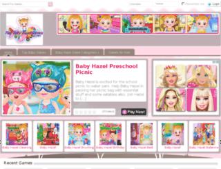 play-baby-hazel-games.com screenshot