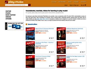 play-music.com screenshot