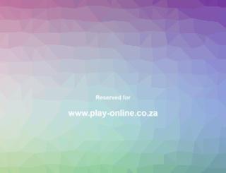 play-online.co.za screenshot