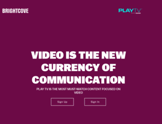 play.brightcove.com screenshot