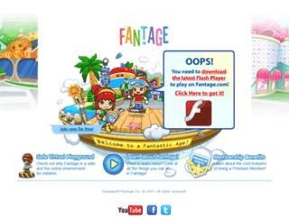 play.fantage.com screenshot