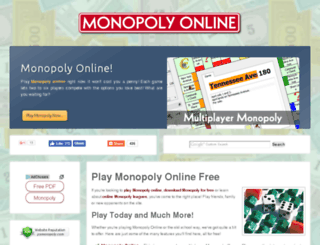 play.psmonopoly.com screenshot