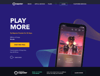 play.rhapsody.com screenshot