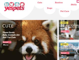 play.yespets.com screenshot