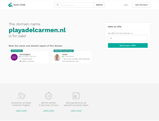 playadelcarmen.nl screenshot
