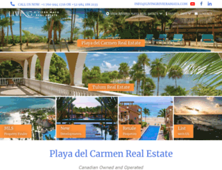 playadelcarmenrealestatemexico.com screenshot
