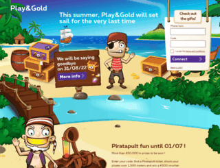 playandgold.be screenshot