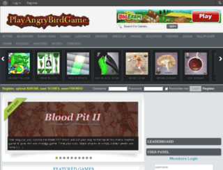 playangrybirdgame.com screenshot