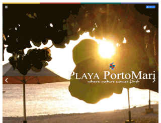 playaportomari.com screenshot