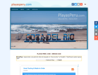 playasperu.com screenshot