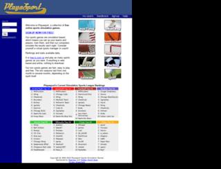 playasport.com screenshot