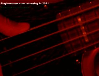 playbassnow.com screenshot