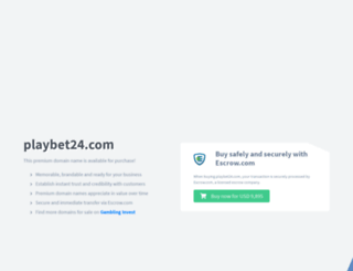 playbet24.com screenshot
