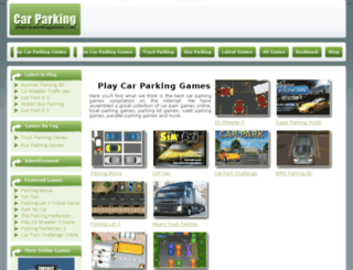playcarparkinggames.com screenshot