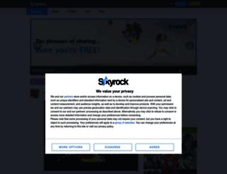playcos.skyrock.com screenshot