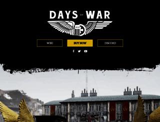 playdaysofwar.com screenshot