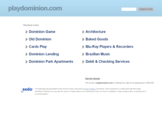 playdominion.com screenshot