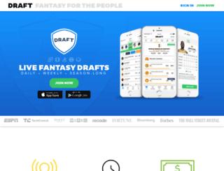 playdraft.com screenshot
