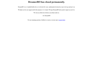 playdreamerro.com screenshot