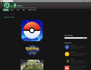 playdroid123.blogspot.com screenshot