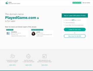 playedgame.com screenshot