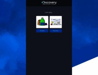 player.discoveryeducation.com screenshot