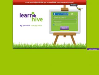 player.learnhive.net screenshot