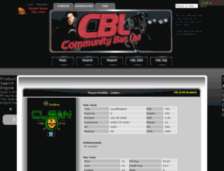 player.thecbl.net screenshot