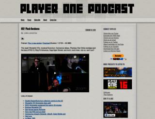 playeronepodcast.com screenshot
