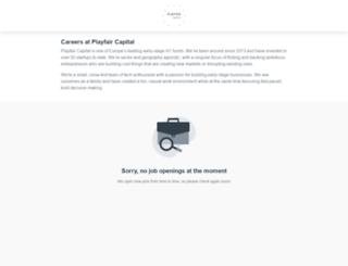 playfair-capital.workable.com screenshot