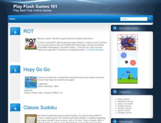 playflashgames101.com screenshot
