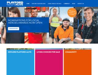 playfordalive.com.au screenshot