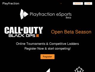 playfraction.com screenshot