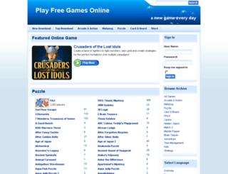 playfreegamesonline.co.za screenshot