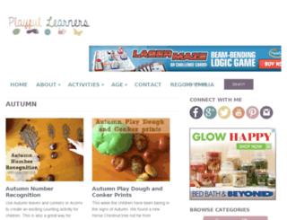 playfullearners.co.uk screenshot