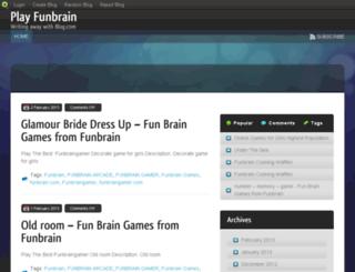 playfunbrain.blog.com screenshot