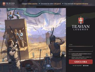 playgame.travian.it screenshot