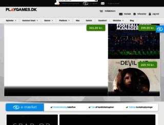 playgames.dk screenshot