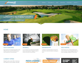 playgolf-london.com screenshot