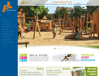 playground-landscape.com screenshot