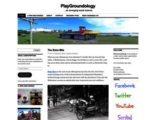 playgroundology.wordpress.com screenshot