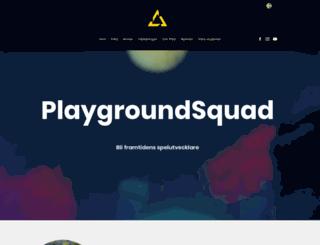 playgroundsquad.com screenshot