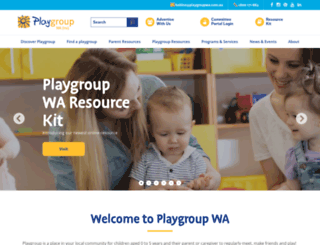 playgroupwa.com.au screenshot