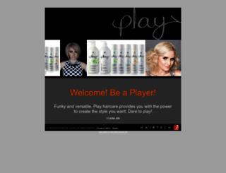 playhaircare.com.au screenshot