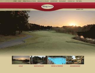 playheritagegolf.com screenshot
